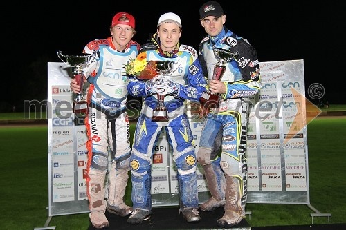 Andrejs Lebedevs (Latvia), Andriy Karpov (Ukrajina), Aleš Dryml (Češka)