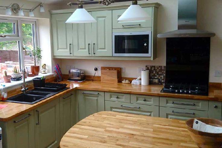 An Innova Silsden Sage Inframe Kitchen