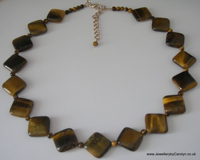 Yellow Tiger's Eye Necklace £15.00