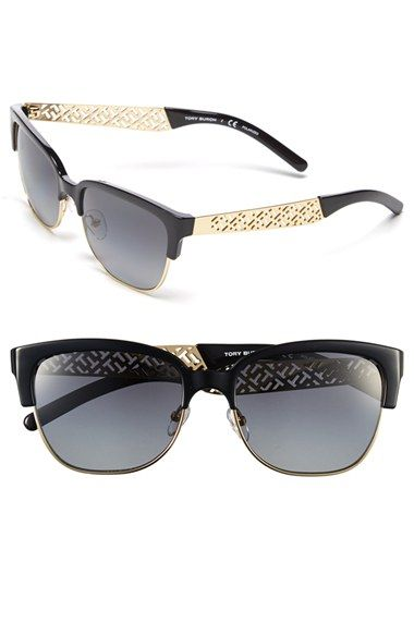 Tory Burch 56mm Polarized Sunglasses (Nordstrom Online Exclusive) available at #Nordstrom