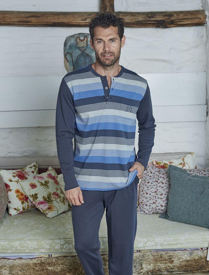PJS Pjs Erkek Pijama Takımı 8820 #gizliçekmece #erkekgiyim #pijama #yenisezon #evgiyim #erkek