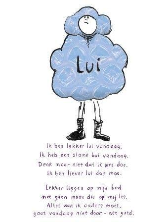 Poëziekaart Plint - Lui: