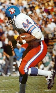 The Original Denver Broncos legend:     Floyd Little