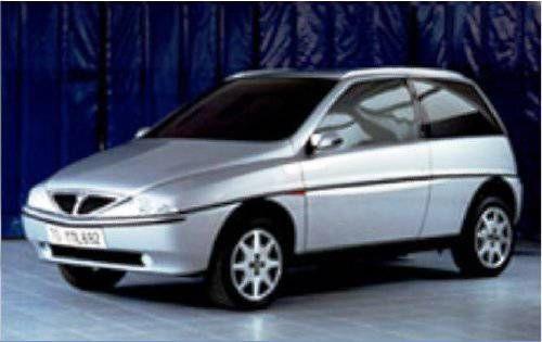 OG | 1996 Lancia Y | Final mock-up