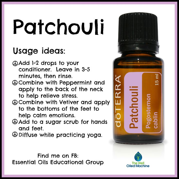 Patchouli ~ doTERRA Find me on FB:  https://www.facebook.com/groups/EssentialOilsEducationalGroup/