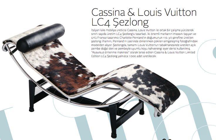 Casina & Lois Vuitton LC4 şezlong