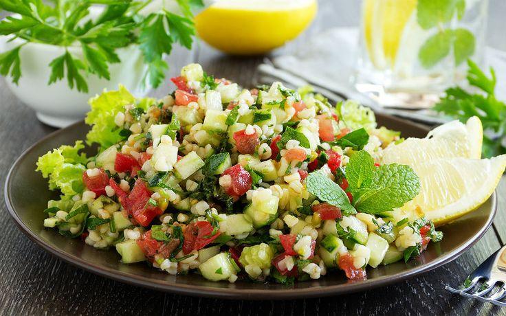 Bulgurlu Yaz Salatası Tarifi