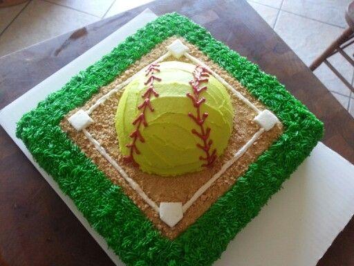 Softball cake. I love this cake