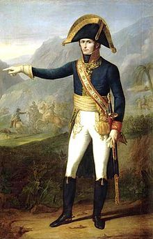 """Général CHARLES-EMMANUEL LECLERC (1772-1802). Britain & France signed a temp peace agreement. Then Napolean sent this general who was also his brother in law to capture Touissant. He was captured & sent to prison hi in the Jura Mountains where he later died. Of the 28k men sent to Saint Domingue (Haiti) only 4k were able to serve. Yellow Fever. Leclerc died there. The courageous 500k """"Haitian Negroes"""" would not be enslaved."""