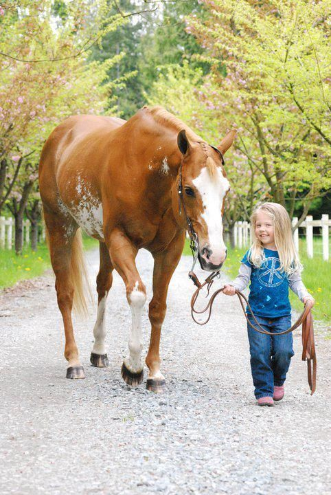 love this! I hope and pray my kids love the outdoors and horses as much as I do!!