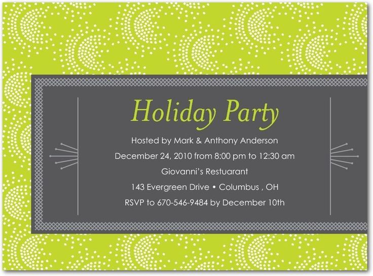 Best Office Christmas Party Invitation Wording  Ideas Images