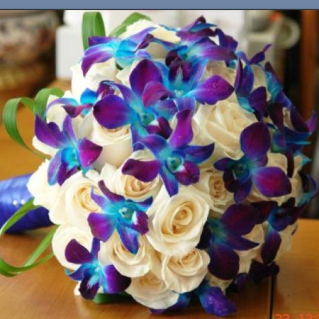 Blue Purple White Wedding Ideas