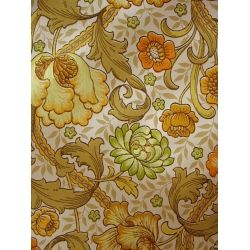 1960s 1970s floral wallpaper by Shand Kidd