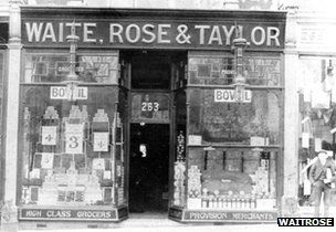 First ever Waitrose shop started in Acton 1904