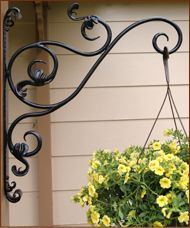 Wall Mount Plant Hanger for the privacy fence