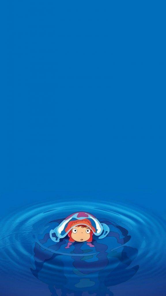 崖の上のポニョ 01 無料高画質iphone壁紙 壁紙 壁紙 ジブリ ポニョ