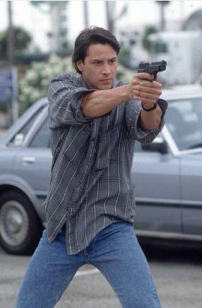 """Keanu Reeves in """"Point Break"""" (1991)"""