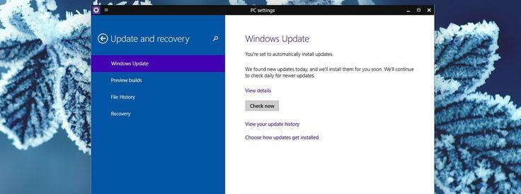 Windows 10 İlk Güncellemesini Aldı - Haberler - indir.com