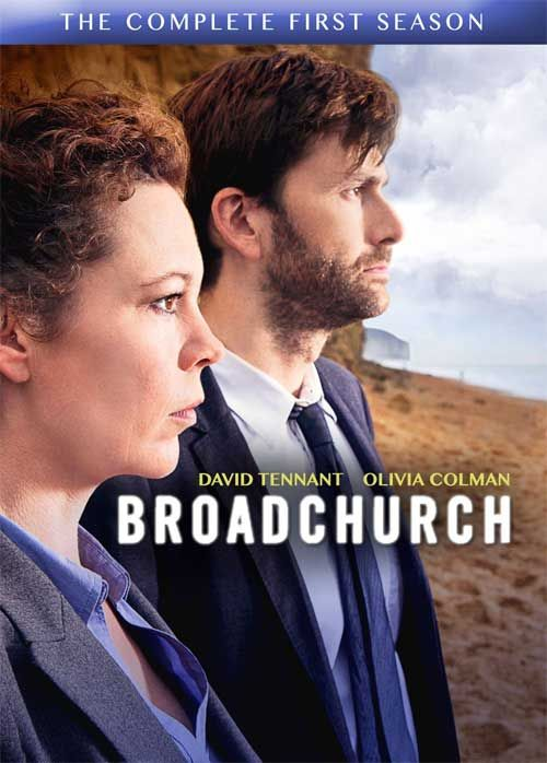 Broadchurch - A Bearded David Tennant Helps Cover the DVD Box of 'The Complete 1st Season'