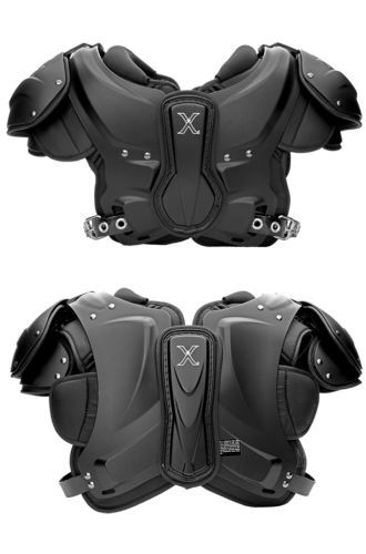 Xenith-Xflection-Velocity-Adult-Football-Shoulder-Pads-LARGE