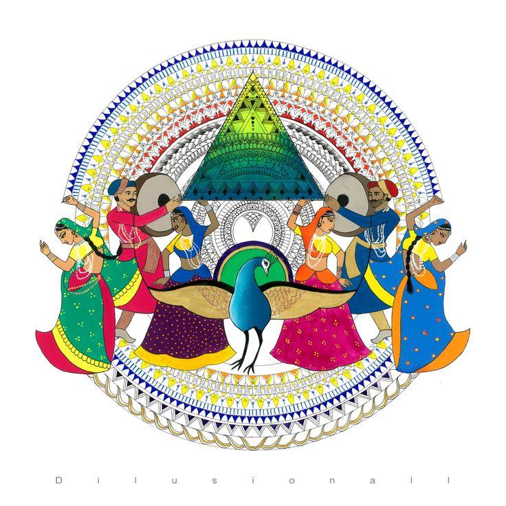 30 best Dilrani Kaur Art images on Pinterest Art pieces, Leo and - music brochure