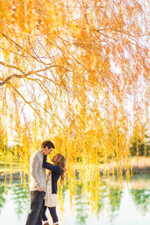Fall Engagement by Ben & Les Photography   Engaged & Inspired