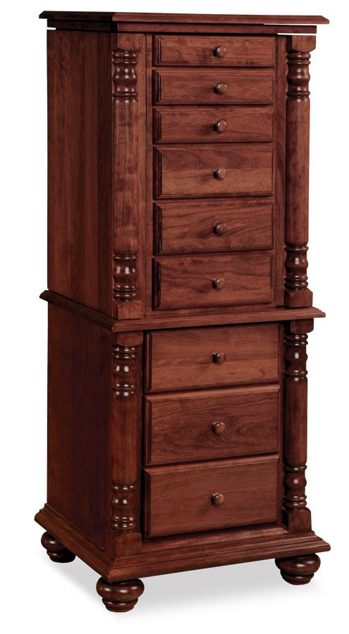 Savannah Jewelry Armoire From Simply Amish Furniture