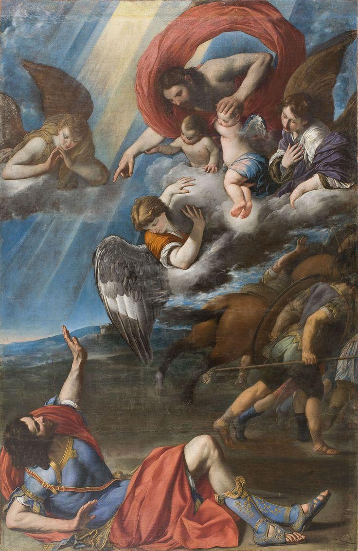The Conversion of Saint Paul / La Conversión de San Pablo // Circa 1614 // Juan Bautista Maíno // © Museu Nacional d'Art de Catalunya