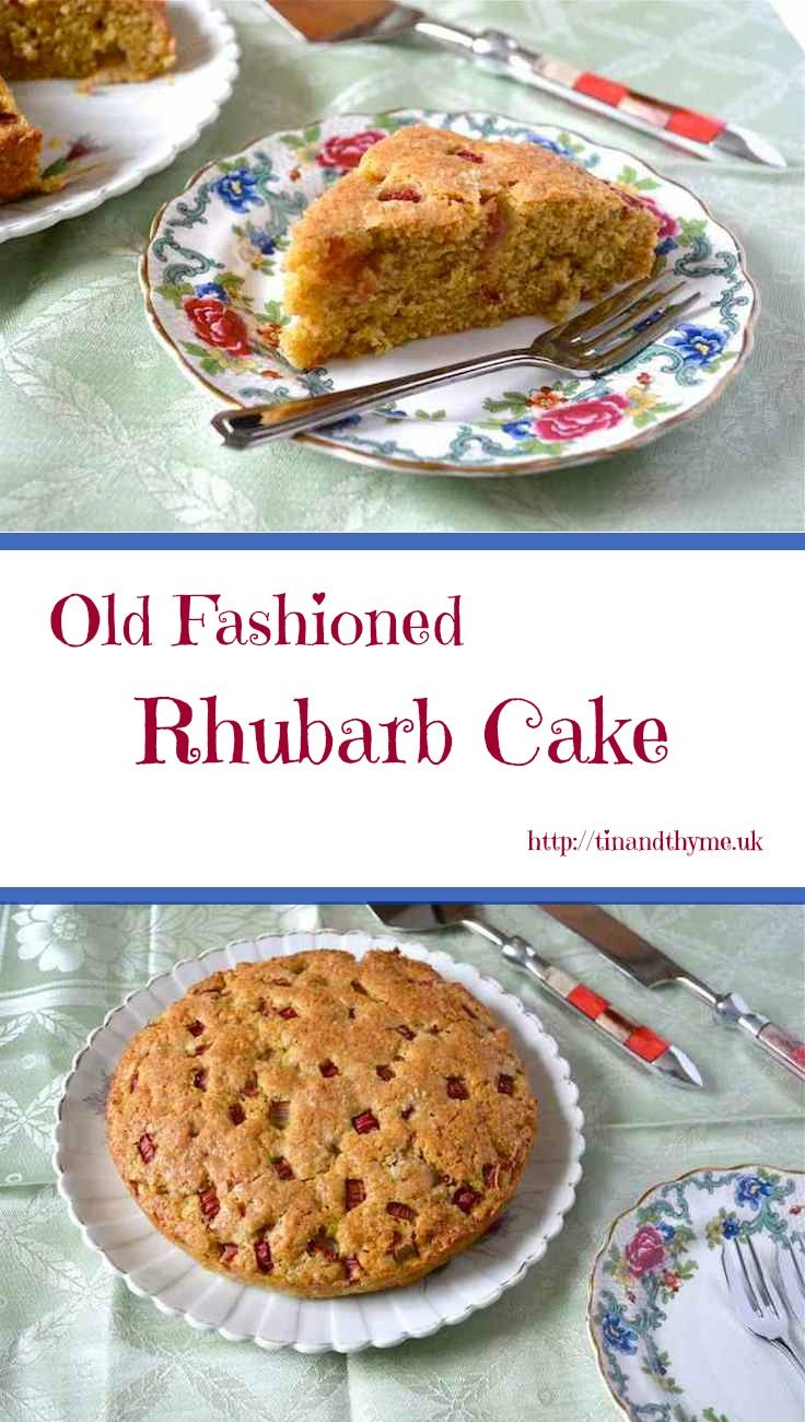 The only Rhubarb Cake recipe you will ever need. Simple to make and delicious to eat.