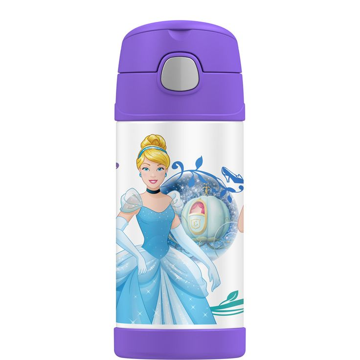 Thermos Funtainer Drink Bottle 355ml Princess | Babies R Us Australia