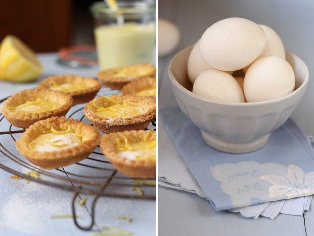 Maltese lemon curd tarts