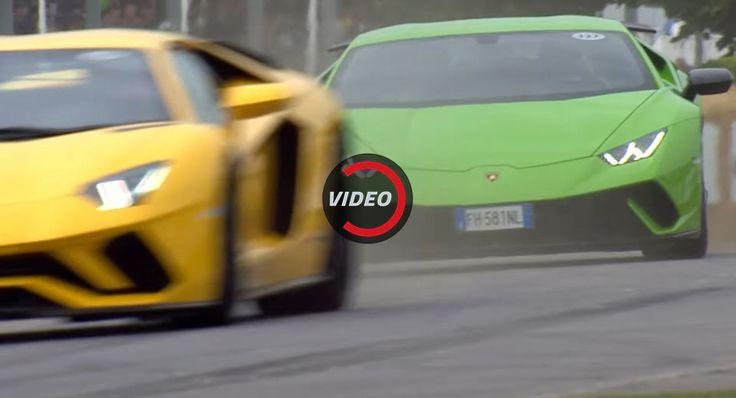 Lamborghini Huracan Performante And Aventador S Make Some Noise At Goodwood FoS