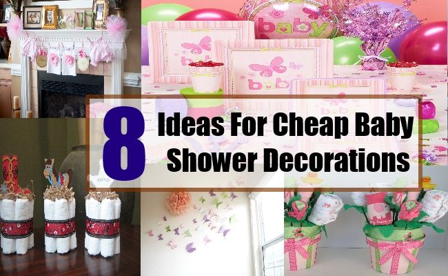 Ideas For Cheap Baby Shower Decorations