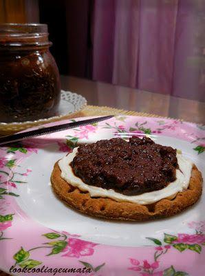Lookcool...λεια γεύματα! : Μαρμελάδα μήλο - κακάο, χωρίς ζάχαρη