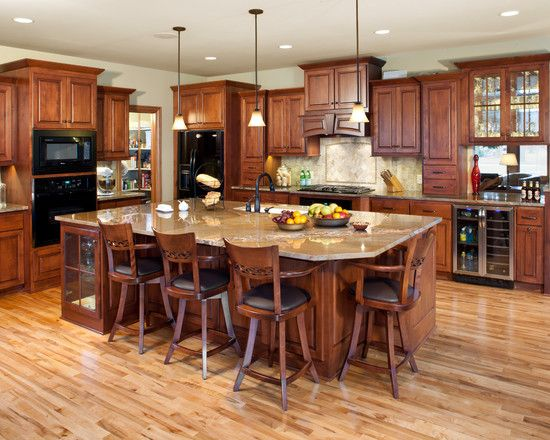 17 Best ideas about Wooden Kitchen Cabinets on Pinterest | Colored ...