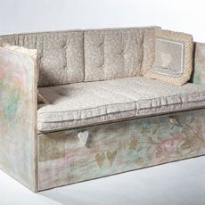 Original hand made sofa