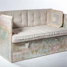 Original hand made sofa