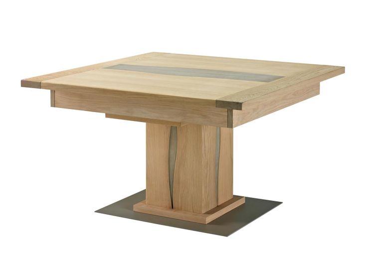 17 meilleures id es propos de table carr e avec rallonge for Table d exterieur avec rallonge