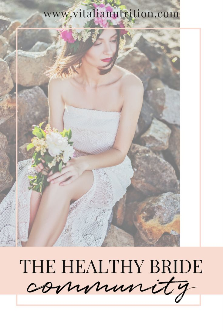 Join the healthy bride facebook group to keep sane while planning your wedding!