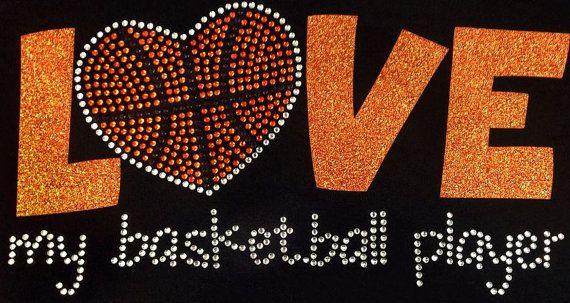 Rhinestone Basketball Mom TShirt  Bling Shirt by DesignsbyDaffy, $19.95