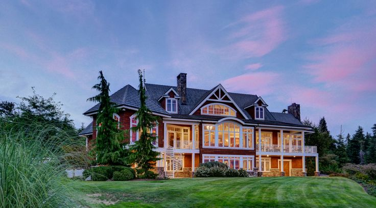 Luxurious Equestrian Estate For Sale Anacortes, Wa. A horse ranch with magnificent views.