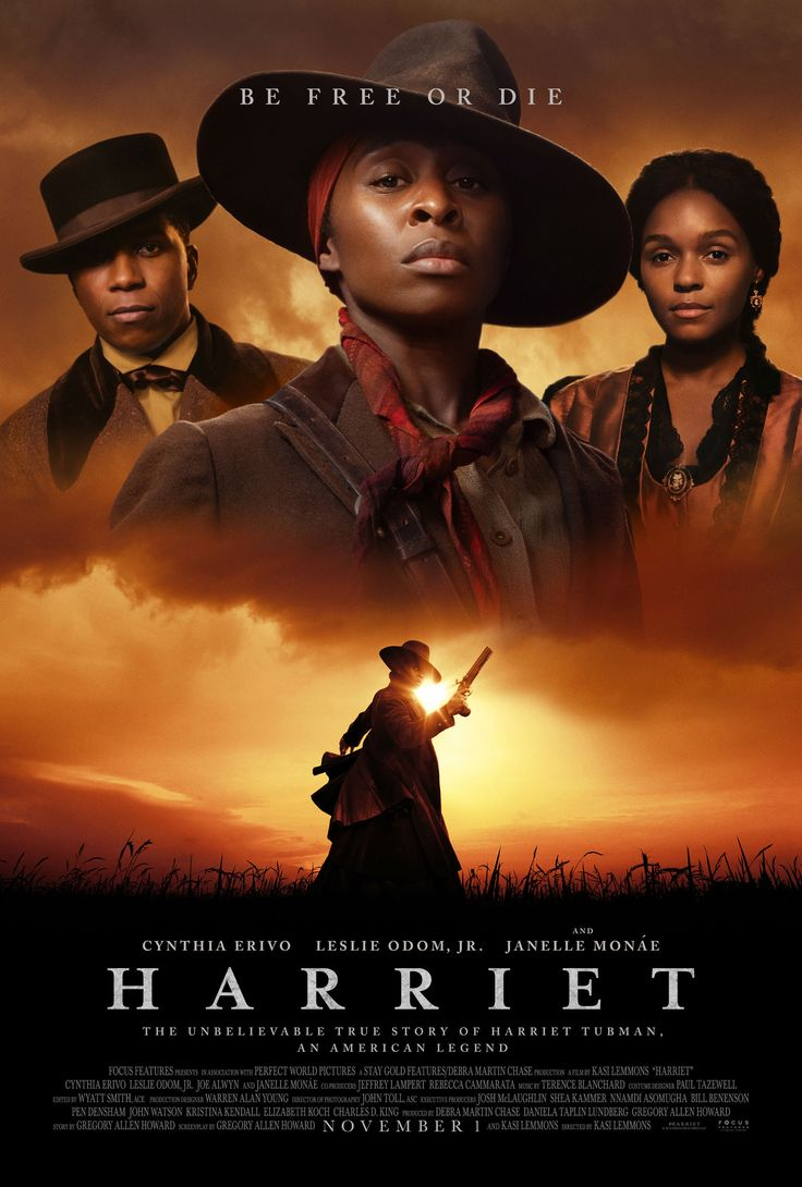 Harriet Movie Poster Glossy High Quality Print Photo Wall Art
