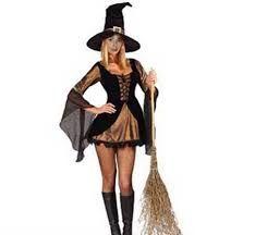 Resultado de imagem para fantasia de bruxa improvisada