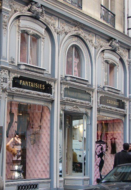 Paris shop exterior