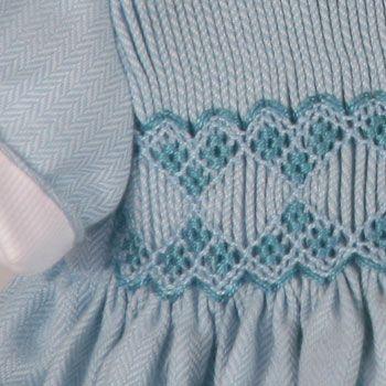 Un vestido azul caramelo !