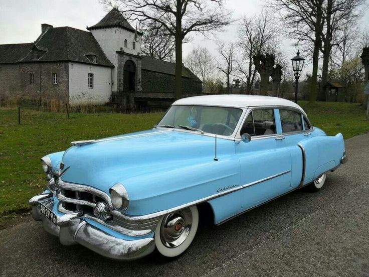 123 best cadillac 1951 1953 images on pinterest for 1953 cadillac 4 door sedan