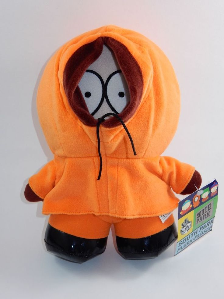 "Comedy Central South Park Kenny 11"" Plush w/Tags #ComedyCentral"