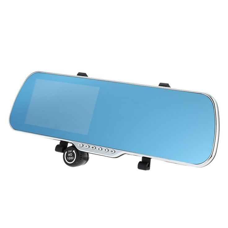 "america 5"" Android 4.4 Smart GPS Navigation Car Rearview Mirror DVR - Tomtop.com"