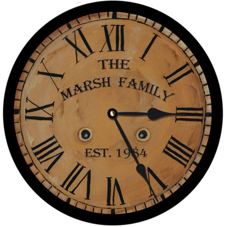 Lexington Studios Traditional Wall Clock - 23401R-14-PERSONALIZATION