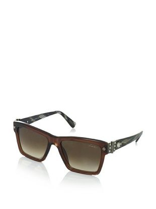 Lanvin Women's SLN511S Sunglasses, Shiny Brown